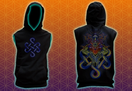 Sleeveless Hoody Infinety Dragon