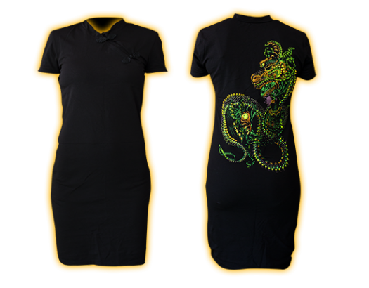 Chinese collar Dragonita Dress